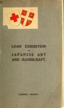 Cover of Catalogue of the loan exhibition of Japanese works of art and handicraft from English collections, held from October 14th to November 13th