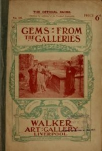 Cover of Catalogue of the Walker Art Gallery