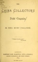 Cover of The china collector's pocket companion