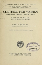 Cover of Clothing for women