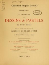 Cover of Collection Jacques Doucet