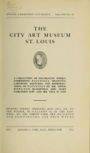 Cover of A collection of decorative works, comprising paintings, drawings, cartoons, sketches, and reproductions of paintings by Mr. Edwin Howland Blashfield, Mrs. Mary Fairchild Low, and Mr. Will H. Low