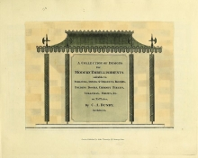 Cover of A collection of designs for modern embellishments