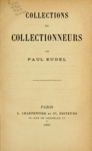 Cover of Collections et collectionneurs