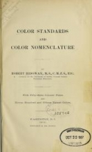 """Cover of """"Color standards and color nomenclature"""""""