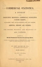Cover of Commercial statistics