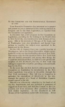 Cover of To the Committee for the International Exposition of 1892 / [respectfully submitted [by] Elihu Root ... et al.]