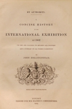 Cover of A concise history of the International Exhibition of l862