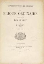 Cover of Constructions en briques