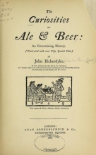 Cover of The curiosities of ale & beer