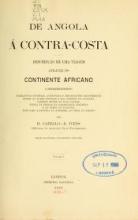 Cover of De Angola á contra-costa