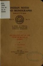 Cover of Decorative art of the Têtes de Boule of Quebec