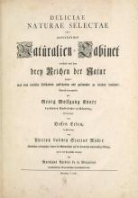 Cover of Deliciae naturae selectae, oder, Auserlesenes Natulralien-Cabinet welches aus den drey Reichen der Natur zeiget
