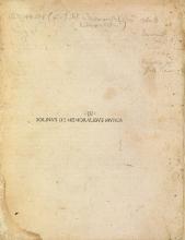 Cover of De memoralibus [i.e. memorabilibus] mundi