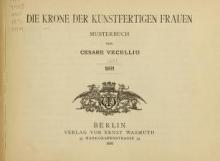 Cover of Die Krone der kunstfertigen Frauen