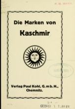 Cover of Die Marken von Kaschmir