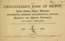 Cover of The embroiderer's book of design