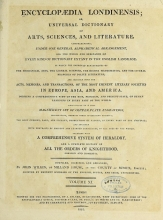 Cover of Encyclopaedia londinensis, or, Universal dictionary of arts, sciences, and literature v.11 (1812)