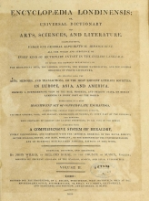 Cover of Encyclopaedia londinensis, or, Universal dictionary of arts, sciences, and literature v.2