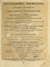 Cover of Encyclopaedia londinensis, or, Universal dictionary of arts, sciences, and literature v.4 (1810)