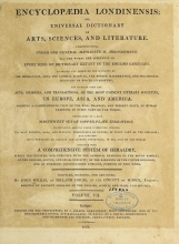 Cover of Encyclopaedia londinensis, or, Universal dictionary of arts, sciences, and literature v.7 (1810)