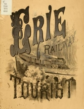 Cover of Erie railway tourist