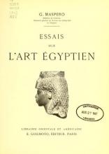 Cover of Essais sur l'art égyptien