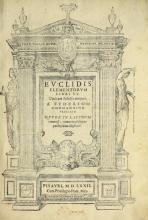 Cover of Euclidis elementorvm libri XV
