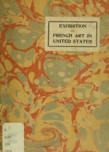 Cover of Exhibition of French modern art