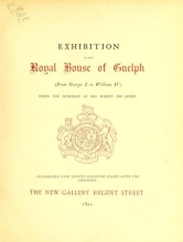 Cover of Exhibition of the Royal House of Guelph