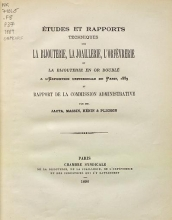 Cover of El´udes et rapports techniques sur la bijouteri