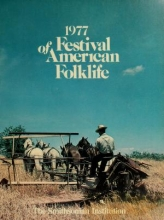 Cover of Festival of American Folklife