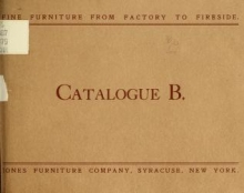 Cover of Fine furniture from factory to fireside
