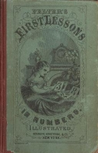 Cover of The first lessons in numbers