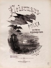 Cover of Fledermaus-Polka