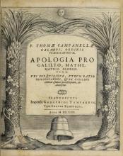 Cover of F. Thomæ Campanellæ ... Apologia pro Galileo