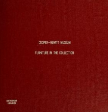 Cover of Furniture in the collection of the Cooper-Hewitt Museum, the Smithsonian Institution's national museum of design