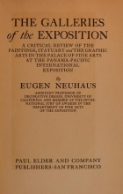 Cover of The galleries of the exposition
