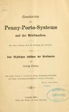 Cover of Geschichte des Penny-Porto-Systems und der Briefmarken