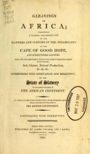 Cover of Gleanings in Africa