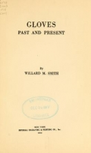 Cover of Gloves, past and present