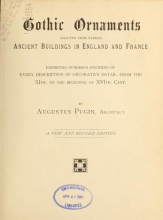 Cover of Gothic ornaments