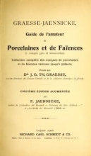 Cover of Graesse-Jaenicke