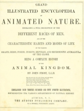 Cover of Grand illustrated encyclopedia of animated nature