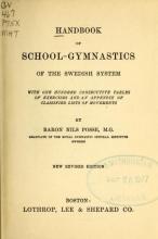 Cover of Handbook of school-gymnastics of the Swedish system