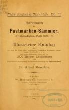Cover of Handbuch für Postmarken-Sammler