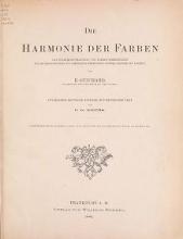 """Cover of """"Die Harmonie der Farben"""""""