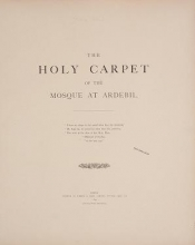 Cover of The holy carpet of the mosque at Ardebil