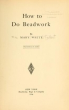 Cover of How to do beadwork