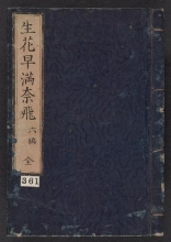 Cover of Ikebana hayamanabi v. 6